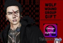 Wolf Wound Make Up Omega Appliers June 2018 Group Gift by DARK&WHITE - Teleport Hub - teleporthub.com