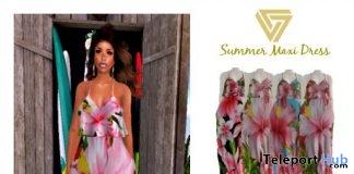 Summer Maxi Dress June 2018 Group Gift by Sevyn East - Teleport Hub - teleporthub.com