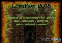 LoveFest 2018 - Teleport Hub - teleporthub.com
