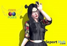Add Me Bento Pose For Girl 1L Promo Gift by Coco Poses - Teleport Hub - teleporthub.com