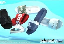 Sandov Slipper July 2018 Group Gift by VERSOV - Teleport Hub - teleporthub.com