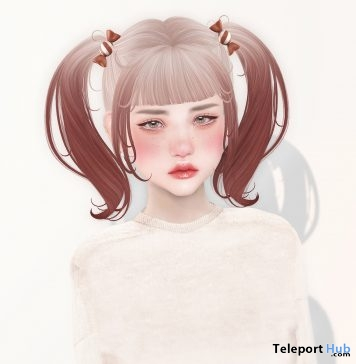 Bonbon Bon Hair July 2018 Group Gift by NANI - Teleport Hub - teleporthub.com