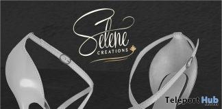 White High Heels July 2018 Group Gift by Selene Creations - Teleport Hub - teleporthub.com