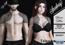Revive Tattoo Unisex July 2018 Group Gift by Speakeasy - Teleport Hub - teleporthub.com