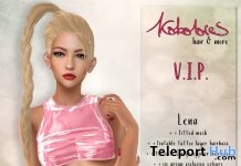 Lena Hair Exclusive Color Pack July 2018 Group Gift by KoKoLoReS - Teleport Hub - teleporthub.com
