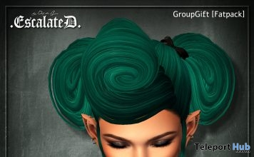 Lane Hair Fatpack July 2018 Group Gift by EscalateD - Teleport Hub - teleporthub.com