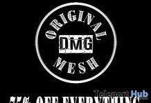 75% Off Everything Sale Promo by DMG Original Mesh - Teleport Hub - teleporthub.com