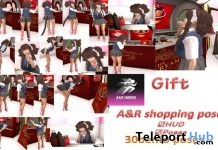 Shopping Pose Pack of 30 Bento Poses Gift by A&R Haven - Teleport Hub - teleporthub.com