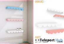 Scalloped Shelf July 2018 1L Promo Gift by Nisuki - Teleport Hub - teleporthub.com