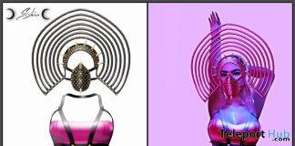 Alexis Dress & Head Wear July 2018 Group Gift by SHIVA - Teleport Hub - teleporthub.com