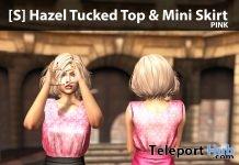 New Release: [S] Hazel Tucked Top & Mini Skirt by [satus Inc] - Teleport Hub - teleporthub.com