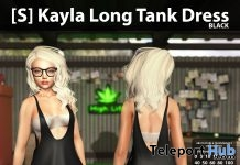 New Release: [S] Kayla Long Tank Dress by [satus Inc] - Teleport Hub - teleporthub.com