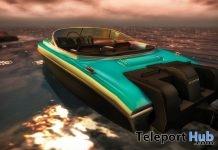 New Release: Antheia Boat by [sau] motors @ The Men Dept July 2018 - Teleport Hub - teleporthub.com