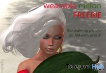 Wearable Melon July 2018 Gift by June Trenkins - Teleport Hub - teleporthub.com
