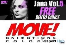 Jana 62 Bento Dance Gift by MOVE! Animations Cologne - Teleport Hub - teleporthub.com