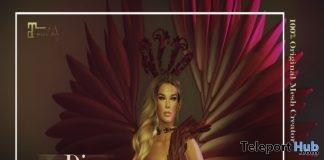 Diva Lingerie July 2018 Group Gift by Virtual Diva - Teleport Hub - teleporthub.com