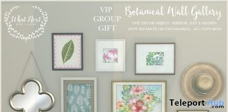 Botanical Wall Gallery August 2018 Group Gift by What Next - Teleport Hub - teleporthub.com