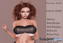 Valerie Outfit August 2018 Group Gift by Enemy Style - Teleport Hub - teleporthub.com