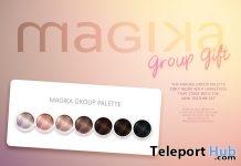 Palette Hair Color HUD September 2018 Group Gift by Magika - Teleport Hub - teleporthub.com