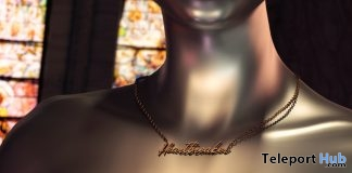 Heartbreaker Necklace September 2018 Group Gift by toksik - Teleport Hub - teleporthub.com