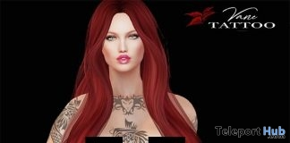 Tribal Combo Tiger Mask Fish Tattoo Appliers HUD August 2018 Gift by Vane Tattoo - Teleport Hub - teleporthub.com