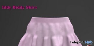 Iddy Biddy Pink Skirt 1L Promo Gift by Soulstar Designs - Teleport Hub - teleporthub.com