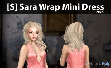 New Release: [S] Sara Wrap Mini Dress by [satus Inc] - Teleport Hub - teleporthub.com