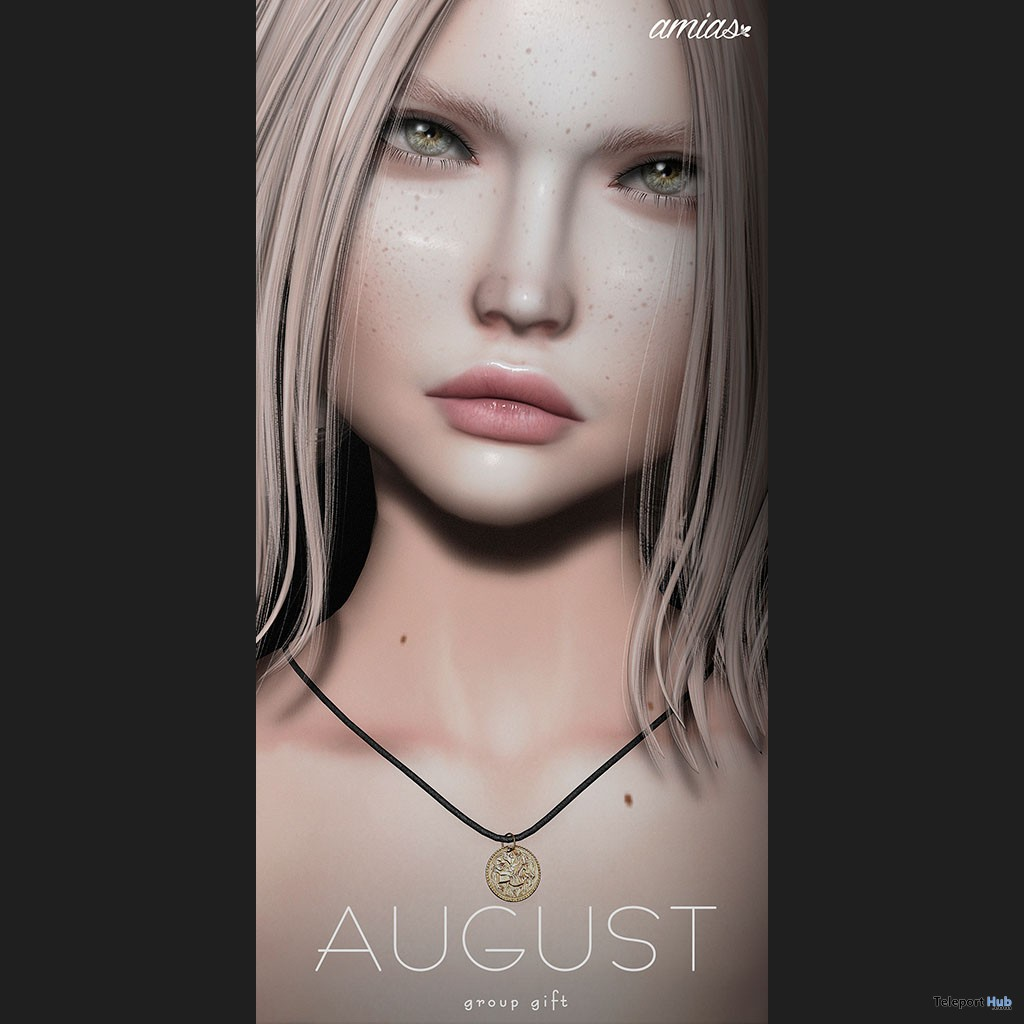 Coin Necklace August 2018 Group Gift by amias - Teleport Hub - teleporthub.com