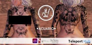 Zodiac Custom Tattoos 99L Promo by ABYEL TATTOOS' STORE @ Up! Event September 2018 - Teleport Hub - teleporthub.com
