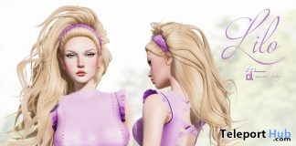 Lilo Outfit Purple September 2018 Group Gift by Belle Epoque - Teleport Hub - teleporthub.com