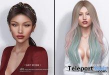 Sofa & Leo Hair September 2018 Group Gift by Opale - Teleport Hub - teleporthub.com