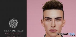 Pierre Skin T3 Catwa Head Applier September 2018 Group Gift by Clef de Peau - Teleport Hub - teleporthub.com