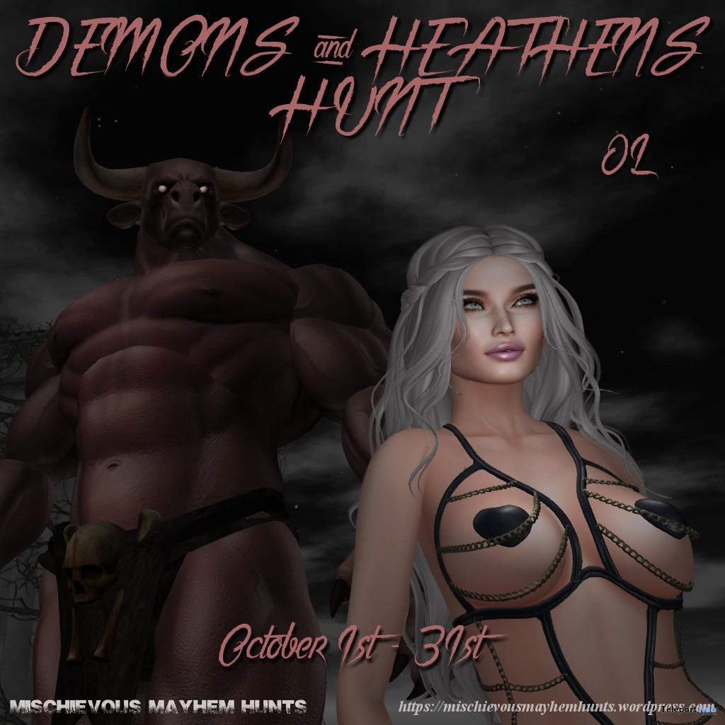Mischievous Mayhem's Heathens & Demons Hunt - Teleport Hub - teleporthub.com
