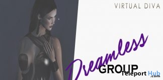 Dreamless Dress September 2018 Group Gift by Virtual Diva Couture - Teleport Hub - teleporthub.com