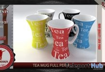 Tea Mug Full Perm September 2018 Gift by EFE Design - Teleport Hub - teleporthub.com