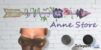 Leonora Dress September 2018 Group Gift by Anne Store - Teleport Hub - teleporthub.com