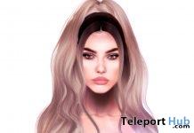 Oleander Hair The Unicorn September 2018 Group Gift by little bones - Teleport Hub - teleporthub.com