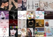 Several Group Gifts At SaNaRae 3rd Anniversary September 2018 by Various Designers - Teleport Hub - teleporthub.com