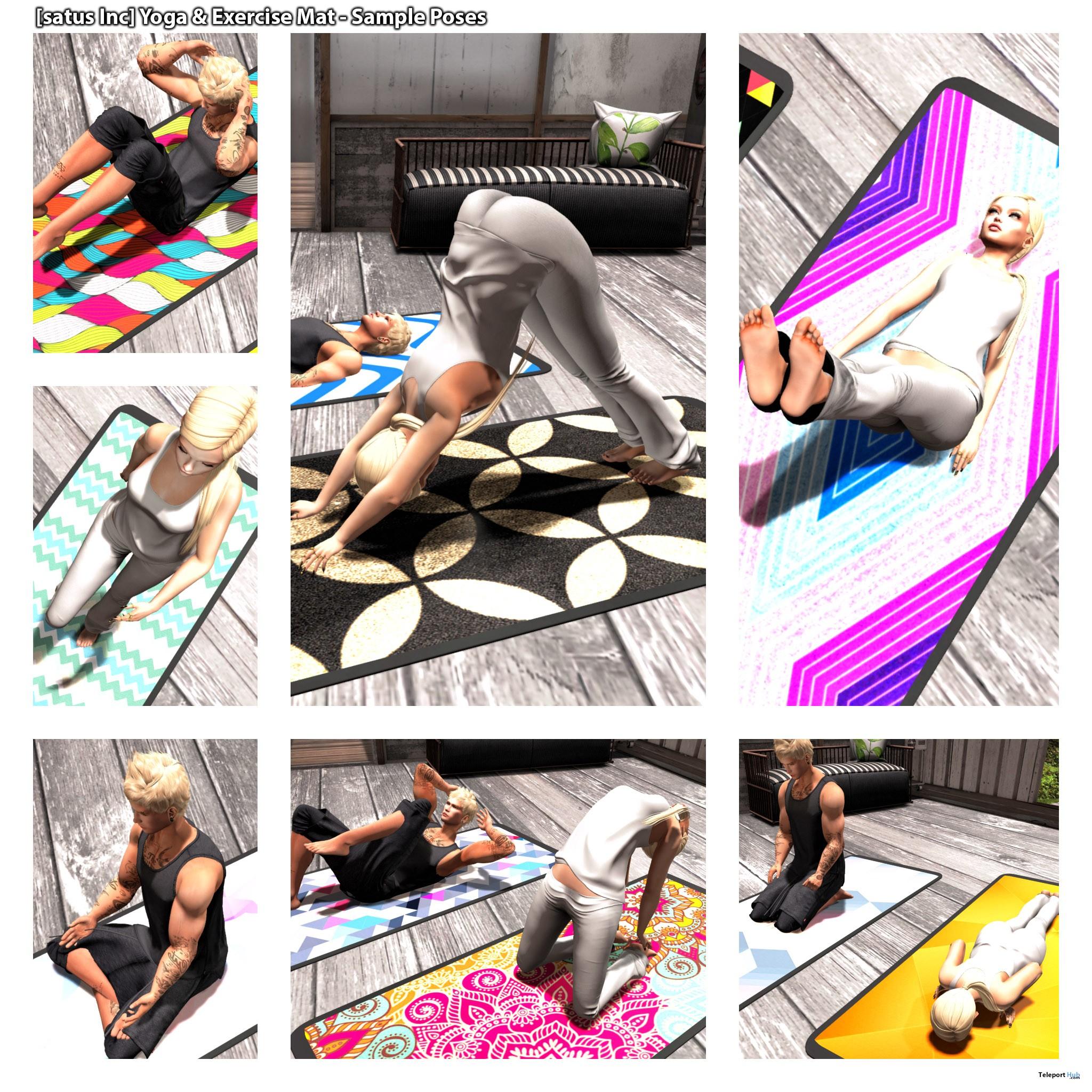 New Release: Yoga & Exercise Mat by [satus Inc] - Teleport Hub - teleporthub.com