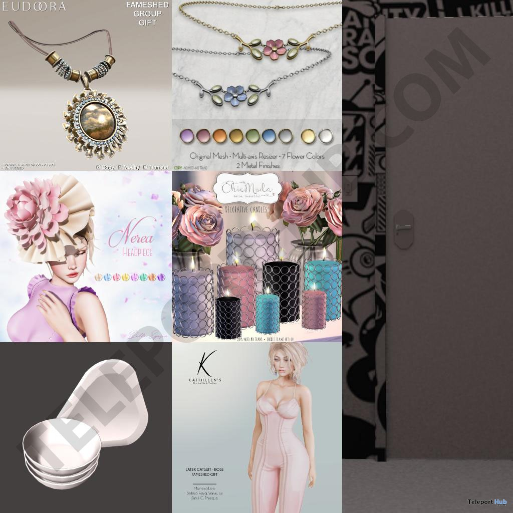 Several Group Gifts At FaMESHed September 2018 by Various Designers - Teleport Hub - teleporthub.com