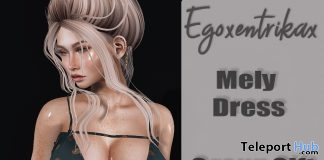 Mesly Dress October 2018 Group Gift by Egoxentrikax - Teleport Hub - teleporthub.com