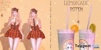 Lemonade Potion Halloween 2018 Group Gift by micamee - Teleport Hub - teleporthub.com