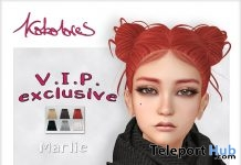 Marlie Hair Exclusive Pack October 2018 Group Gift by KoKoLoReS - Teleport Hub - teleporthub.com