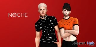 Halloween T-Shirt Pack October 2018 Group Gift by NOCHE - Teleport Hub - teleporthub.com