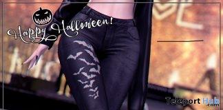 Bad Bat Skinny Jeans October 2018 Group Gift by Loki - Teleport Hub - teleporthub.com