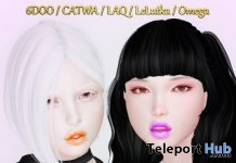 Halloween Lipgloss Pumpkin & Poison October 2018 Group Gift by MEL - Teleport Hub - teleporthub.com