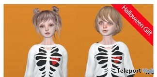 Layered Tops & Pants For Kid Doll Avatar Halloween 2018 Group Gift by COCO Designs - Teleport Hub - teleporthub.com