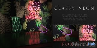 Classy Neon October 2018 Group Gift by FOXCITY - Teleport Hub - teleporthub.com
