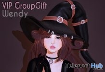 Wendy Hair October 2018 Group Gift by Ayashi - Teleport Hub - teleporthub.com