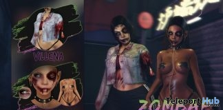 """Zombae"" Set Halloween 2018 Group Gift by Bossie. x Villena - Teleport Hub - teleporthub.com"